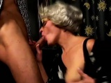 Gilf crazy about the cock