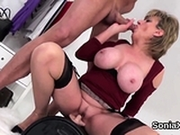Adulterous english mature gill ellis shows her big ti04zaX