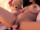 busty latin cam-slut fuckmachine