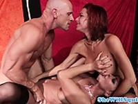 Squirting pornstar Nora Noir pounded