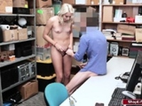 Teen fucked by officer for running amok