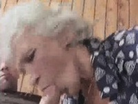 Granny Gets Laid With A Younger Gent