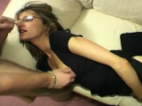 Stockings european clothed blonde