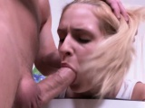 Gaping ass pounded slut