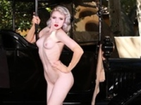 Marylin Monroe tribute by Russian MILF blonde Mosh