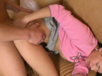 Voluptuous young russian honey gets fucked hard