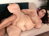 Big beautiful woman rides