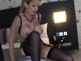 Cheating british milf lady sonia shows her large breasts