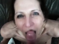 Saucy Marie fucks for a creampie