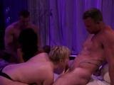 Foursome reality show sing blowjob fuck amateurs