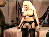 Jizz loaded vulva space is eaten by cuckold centre