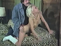 sweet oldschool vagina on couch