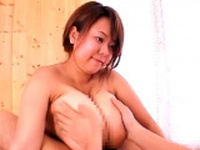 Busty asian Fuko Love tit fucking