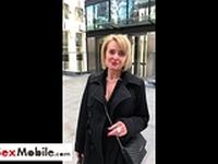 Old MILF secretary gets fucked at lunch break in hotel room