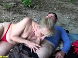 outdoor sex for ugly grandma
