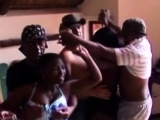 African sex slaves at a swinger party