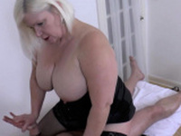 Hard Dick for Sexy Granny
