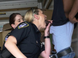 Amateur female police milfs in action