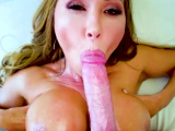 Hot MILF Asian gets her monster tits fucked