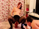 Anal fisting and stretching for submissive girl