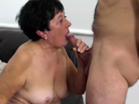 hairy old grandma first toyboy sex