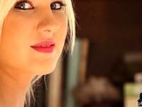 Petite body teen blonde Holly Jean hot naked posing