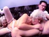 Nasty grannies threesome